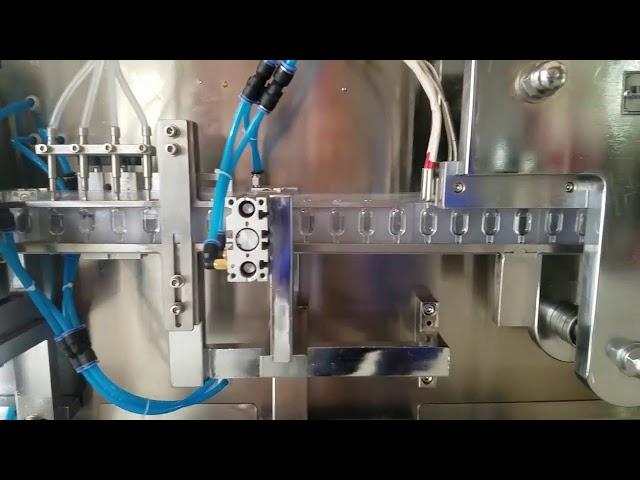 Fiala di plastica formatrice e riempitrice di liquido orale che forma la macchina di sigillatura di riempimento